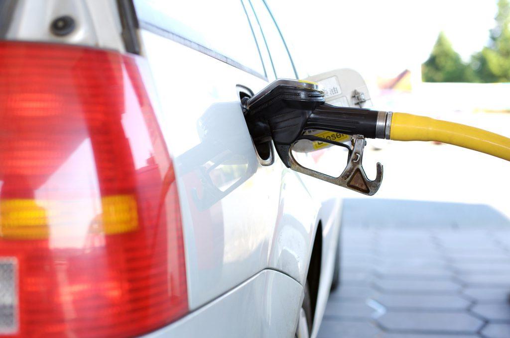 Optakning af firmabil med erhvervsaftale på brændstof